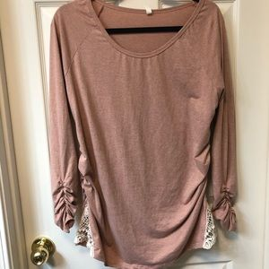 Mauve Pinkblush Shirt